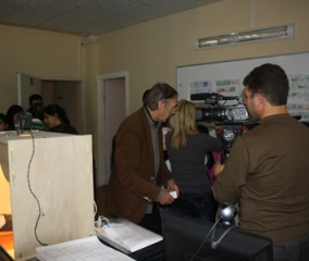 CIFEJ Headquarters' first attempt to organize animation workshop; recounted by Ericsson, the distinguished animator from Sweden
